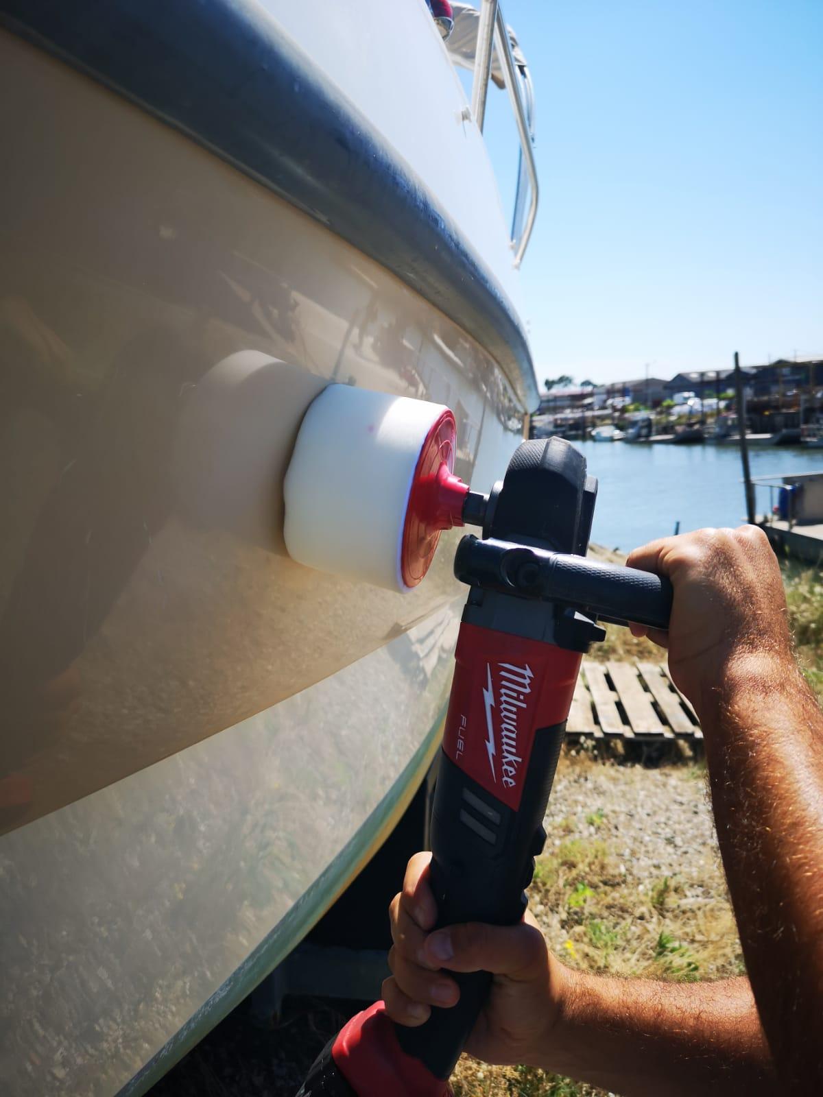 PadXpress Polish bateau - Polisseuse Milwaukee sans fil M18