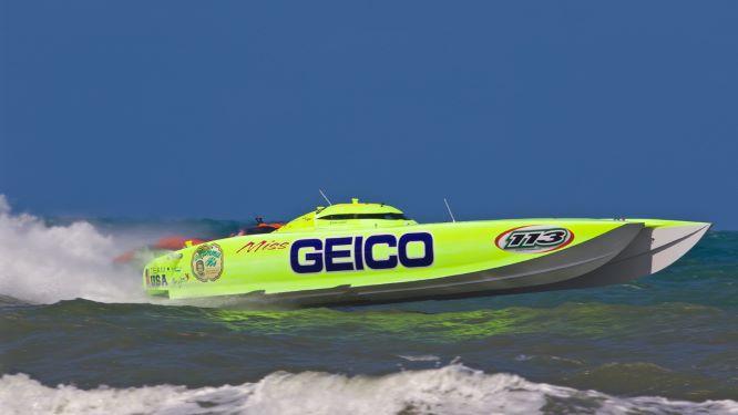 Padxpress Céramique fournisseur officiel Team Miss Geico Offshore